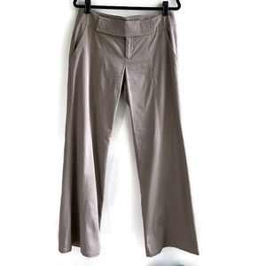 Nanette Lepore Into The Wild Pants Taupe 10
